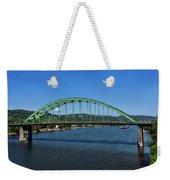 The Fort Henry Bridge - Wheeling West Virginia Weekender Tote Bag