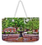 The Fountain At Radford University Weekender Tote Bag