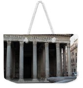 The Fountain In Front Of Pantheon Weekender Tote Bag