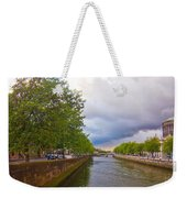 The Four Courts In Reconstruction 3 Weekender Tote Bag