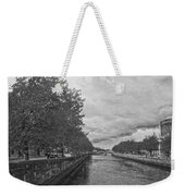 The Four Courts In Reconstruction 3 Bw Weekender Tote Bag