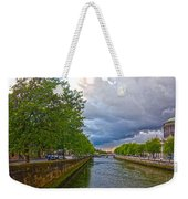 The Four Courts In Reconstruction 3 V2 Weekender Tote Bag