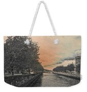 The Four Courts In Reconstruction 3 V4 Weekender Tote Bag