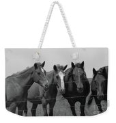 The Four Horses Weekender Tote Bag
