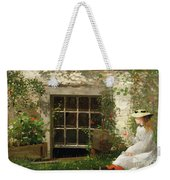 The Four Leaf Clover Weekender Tote Bag by Winslow Homer