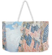 The Fourth Of July Weekender Tote Bag by Childe Hassam
