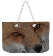 The Fox 4 Upclose Weekender Tote Bag