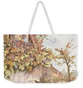 The Fox And The Grapes Weekender Tote Bag