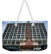 The Fox Theatre In Detroit Welcomes Charlie Sheen Weekender Tote Bag