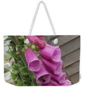 The Foxglove And The Bumble Bees Weekender Tote Bag