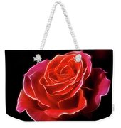 The Fractalius Rose Weekender Tote Bag