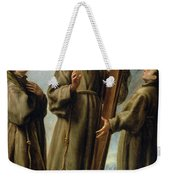 The Franciscan Martyrs In Japan Weekender Tote Bag by Don Juan Carreno de Miranda