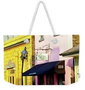 The French Quarter Wedding Chapel Weekender Tote Bag