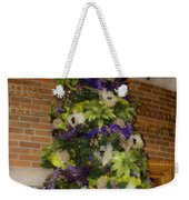 The French Thistle Tree Fashions For Evergreens Hotel Roanoke 2009 Weekender Tote Bag