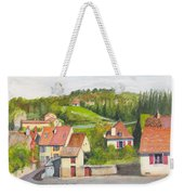 The French Village Of Billy In The Auvergne Weekender Tote Bag