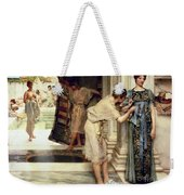 The Frigidarium Weekender Tote Bag by Sir Lawrence Alma-Tadema