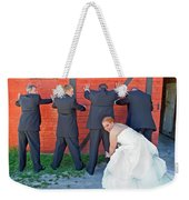 The Frisky Bride Weekender Tote Bag