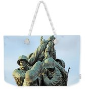 The Front Up Close -- The Iwo Jima Monument Weekender Tote Bag