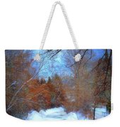 The Frozen Creek Weekender Tote Bag