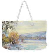 The Frozen Lake Weekender Tote Bag