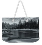 The Frozen Pond Weekender Tote Bag