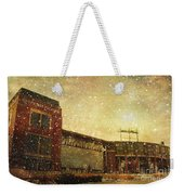 The Frozen Tundra Weekender Tote Bag by Joel Witmeyer
