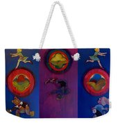 The Fruit Machine Stops II Weekender Tote Bag by Charles Stuart