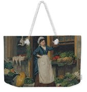 The Fruit Seller Weekender Tote Bag by Victor Gabriel Gilbert