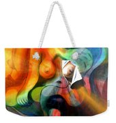 The Frustration Of The Torn Canvas Weekender Tote Bag