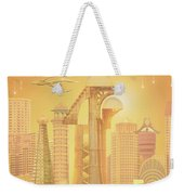 The Future Is Golden Weekender Tote Bag