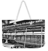The Future Is Not For Sale Weekender Tote Bag