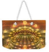 The Galactic Mirror Ball Weekender Tote Bag