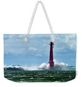 The Gale Of October Weekender Tote Bag