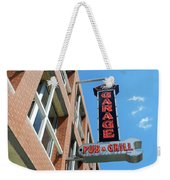 The Garage Pub Weekender Tote Bag
