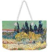 The Garden At Arles  Weekender Tote Bag by Vincent Van Gogh