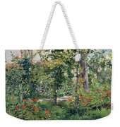 The Garden At Bellevue Weekender Tote Bag by Edouard Manet