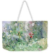The Garden At Bougival Weekender Tote Bag by Berthe Morisot