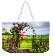 The Garden At The Winery Weekender Tote Bag
