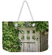 The Garden Door - V Weekender Tote Bag