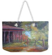 The Garden Gate Weekender Tote Bag