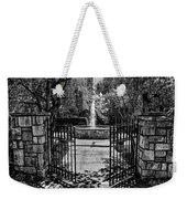 The Garden Gate Weekender Tote Bag