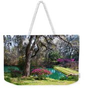The Garden In The Abbey Weekender Tote Bag