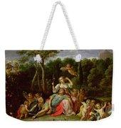 The Garden Of Armida Weekender Tote Bag