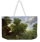 The Garden Of Eden Weekender Tote Bag by Nicolas Poussin