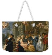 The Garden Of Love Weekender Tote Bag
