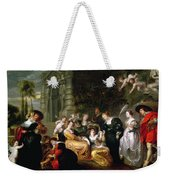 The Garden Of Love Weekender Tote Bag