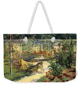 The Garden Of Manet Weekender Tote Bag
