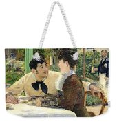 The Garden Of Pere Lathuille Weekender Tote Bag by Edouard Manet