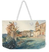The Garden Of San Miniato Near Florence Weekender Tote Bag