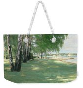 The Garden Of The Artist In Wannsee Weekender Tote Bag